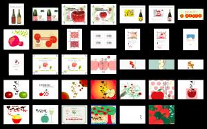 画像:たてしなップル新シードルラベルデザインコンペティション、結果発表!!!
